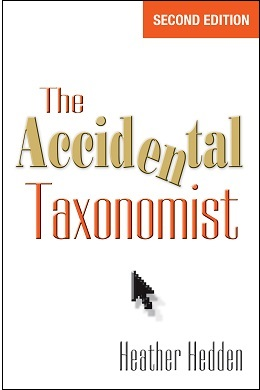 The Accidental Taxonomist, 2nd edition cover